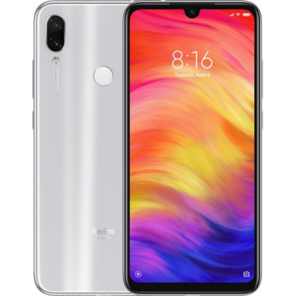 Xiaomi Redmi Note 7 Dual Sim 64GB 4GB RAM - Fehér (Moonlight White)