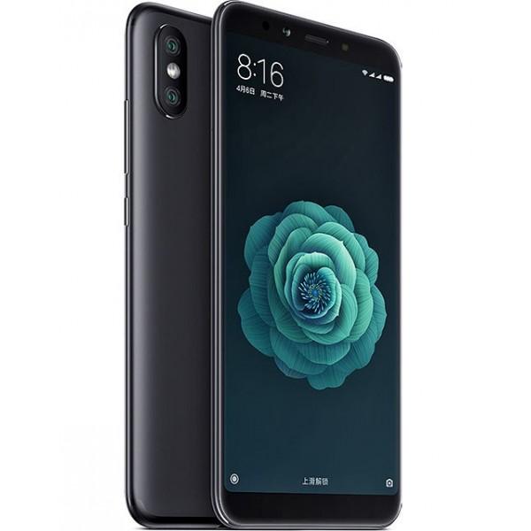 Xiaomi Mi A2 Dual Sim 128GB 6GB RAM Fekete