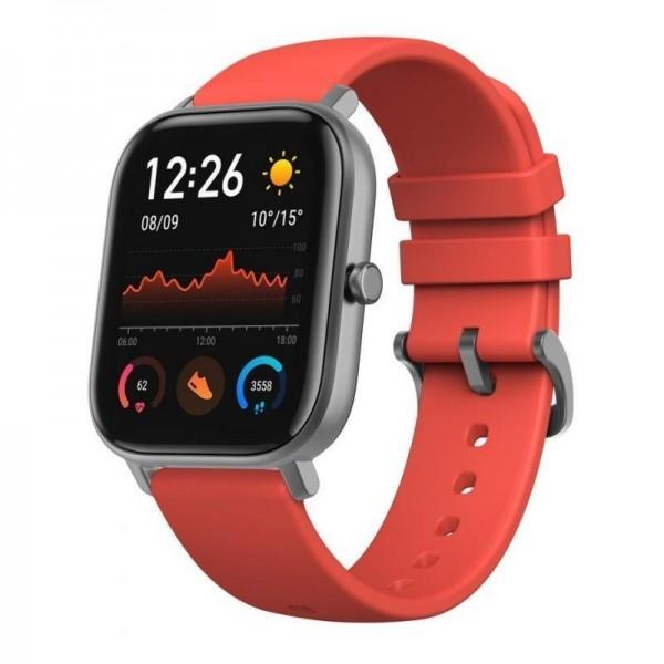 Xiaomi Amazfit GTS okosóra (XMAMAZGTSRD) - Piros