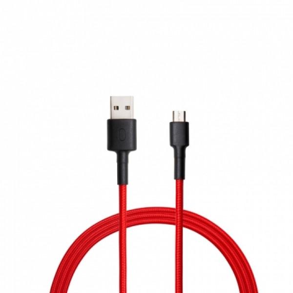 Xiaomi Mi Type-C fonott USB kábel 100cm - Piros