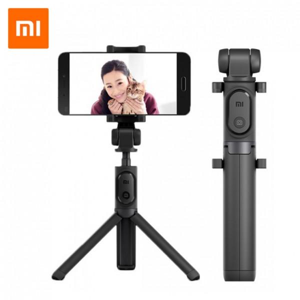 Xiaomi Mi Selfie Stick Tripod Bluetooth Selfie Bot állvánnyal - Fekete