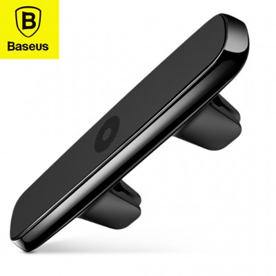 Baseus dupla csiptetős mágneses autós telefontartó szellőzőrácsra - Fekete