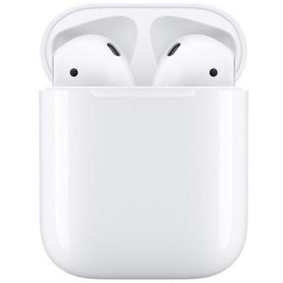 Apple AirPods 2 vezeték nélküli Bluetooth fülhallgató (headset) töltőtokkal MV7N2ZM