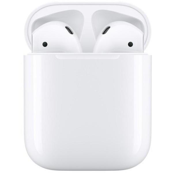 Apple AirPods 2. generációs vezeték nélküli Bluetooth fülhallgató (headset) töltőtokkal MV7N2ZM