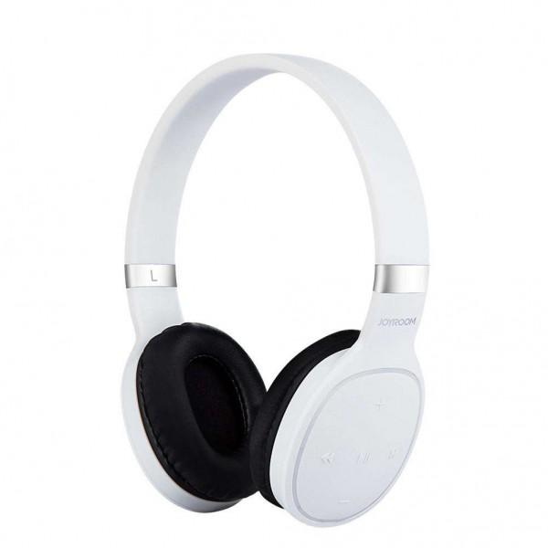 JoyRoom JR-H15 bluetooth fejhallgató fehér