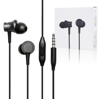 Xiaomi Mi In-Ear Basic gyári fülhallgató 3,5 vezetékes - Fekete