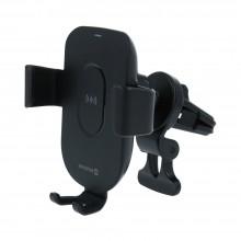 Swissten Gravity autós telefontartó vezeték nélküli töltővel, 15W, GW1-AV5