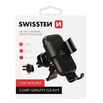 Swissten Gravitációs autós tartó szellőzőrácsra, G2-AV4