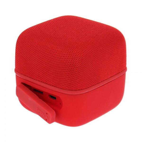 Swissten Music cube TWS hangszóró piros