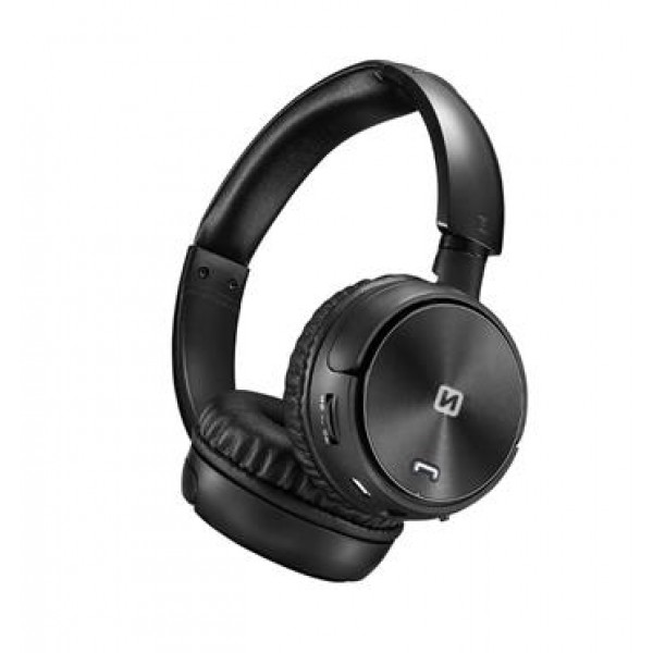 Swissten Trix bluetooth sztereó fejhallgató, fekete