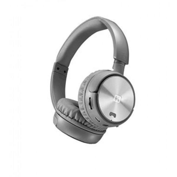 Swissten Trix bluetooth sztereó fejhallgató, ezüst-szürke