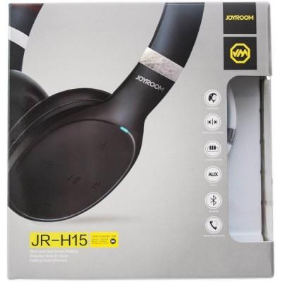 JoyRoom JR-H15 bluetooth fejhallgató fekete