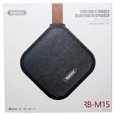 Remax RM-M15 bluetooth hangszóró fekete